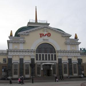 Железнодорожные вокзалы Глазуновки